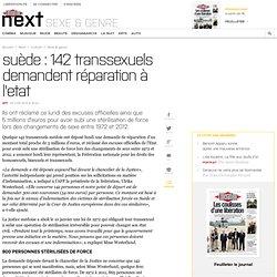 Suède: 142 transsexuels demandent réparation à l'Etat