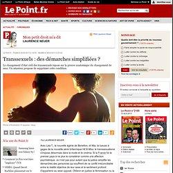 Transsexuels : des démarches simplifiées ?