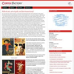Pub et art, art et pub, un lien transversal