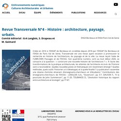 Transversale (ENSAPB et ENSAPV)