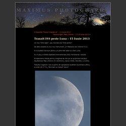 2013 - Transit ISS devant Lune