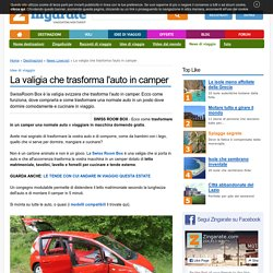 Come trasformare l'auto in camper: Swiss Room Box