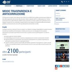 MOOC Trasparenza e anticorruzione - CSI Piemonte