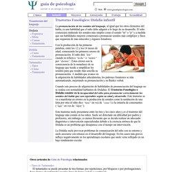 Trastorno Fonológico: Dislalia infantil