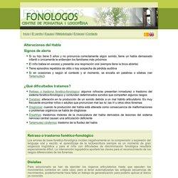 Retardo y trastorno fonético-fonológico - Fonologos
