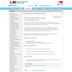 Unidad de Trastornos de Identidad de Género - Madrid.org - Hospital Ramon Cajal