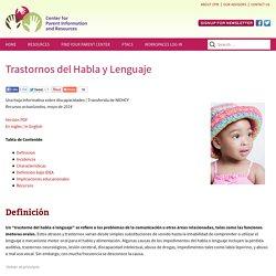 Trastornos del Habla y Lenguaje