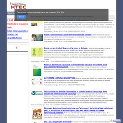 Recursos nee Trastorns Lectoescriptura - EAP B56