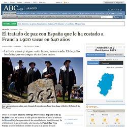 El tratado de paz con España que le ha costado a Francia 1.920 vacas en 640 años