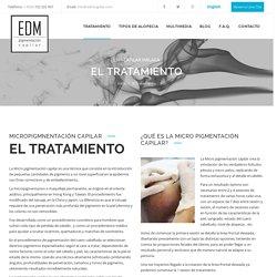 EDM Micro-pigmentación capilar