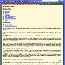 Remedios caseros-Cultivos-Labores culturales