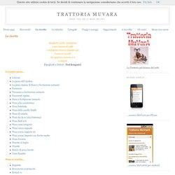 Trattoria MuVarA: Le ricette