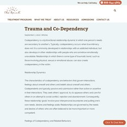 Trauma and Co-Dependency - The Ranch