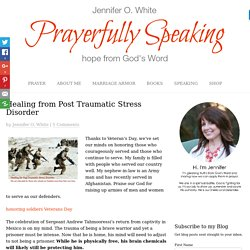 Healing from Post Traumatic Stress Disorder