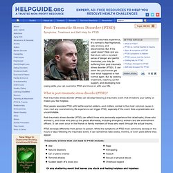 Post-Traumatic Stress Disorder (PTSD): Symptoms, Treatment and Self-Help
