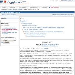 Code du travail - Article L5212-13