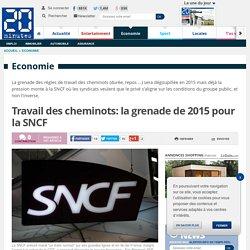 Travail des cheminots: la grenade de 2015 pour la SNCF