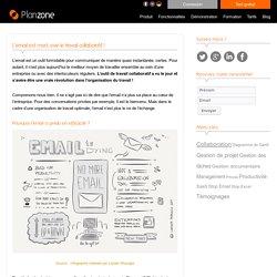 L'email est mort, vive le travail collaboratif ! Blog Planzone