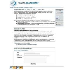 Travail collaboratif [Qu'est-ce que le travail collaboratif?]