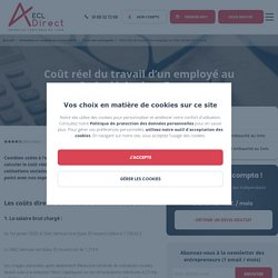 Coût réel du travail d'un employé au Smic déclaré en France - ECL DIRECT