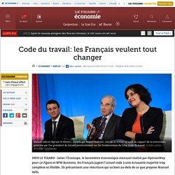 Code du travail: les Français veulent tout changer