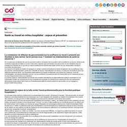 Santé au travail en milieu hospitalier : enjeux et prévention