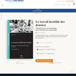 Le travail invisible des données - Presses des Mines