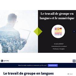 Le travail de groupe en langues et le numérique