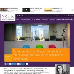 Travail, emploi, numérique : ce qu'il faut retenir du rapport du Conseil national du numérique
