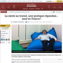 La sieste au travail, une pratique répandue… sauf en France!