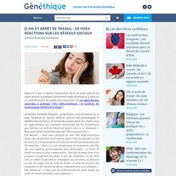 IVG et arrêt de travail : De vives réactions sur les réseaux sociaux