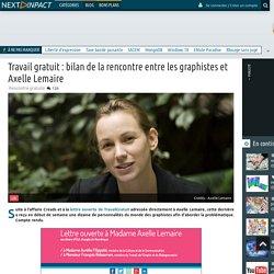 Travail gratuit : bilan de la rencontre entre les graphistes et Axelle Lemaire