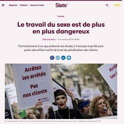 Le travail du sexe est de plus en plus dangereux