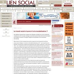 Le travail social s'ouvre-t-il à la mondialisation?