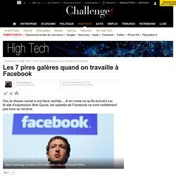 Les 7 pires galères quand on travaille à Facebook - 9 septembre 2013
