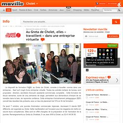 Greta Cholet : Entreprise virtuelle
