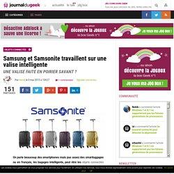 Samsung et Samsonite travaillent sur une valise intelligente