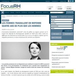 Les femmes travaillent en moyenne quatre ans de plus que les hommes - Diversité - Focus RH