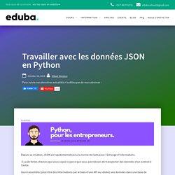 Travailler avec les données JSON en Python