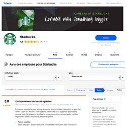 Travailler chez Starbucks : 144 avis