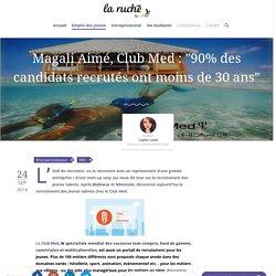 Travailler au Club Med : Les tuyaux de Magali Aimé