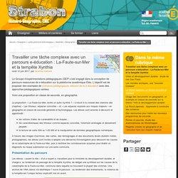 Travailler une tâche complexe avec un parcours e-éducation : La-Faute-sur-Mer et la tempête Xynthia