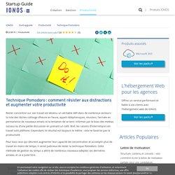 Technique Pomodoro: travailler de manière concentrée et productive - IONOS