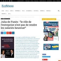 Travailler demain : focus sur le livre de Julia de Funès et Nicolas Bouzou