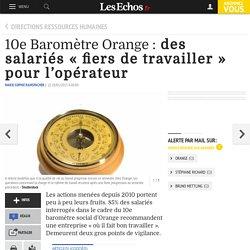 10e Baromètre Orange : des salariés « fiers de travailler » pour l'opérateur, Directions ressources humaines