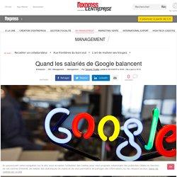 Travailler chez google n'offre pas que des avantages