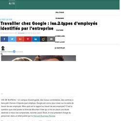 Travailler chez Google : les 2 types d'employés identifiés par l'entreprise