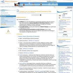 Travailler avec un Tableau Numérique Interactif en EPS. - Page 9/9 - Education physique et sportive