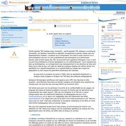 Travailler avec un Tableau Numérique Interactif en EPS.- Education physique et sportive