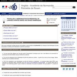 Travailler la mémorisation en présentiel en langues vivantes grâce aux roues numériques